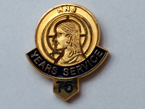 513  75 Year Service/Member Button