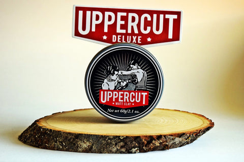 Uppercut Deluxe - Matte Clay - Barberfresh - 1