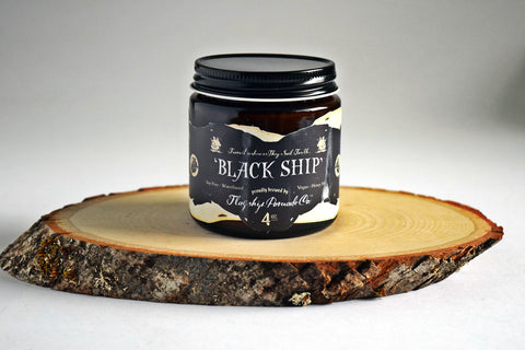 Water Pomade - Flagship Pomade Co. - Black Ship Water Based Pomade