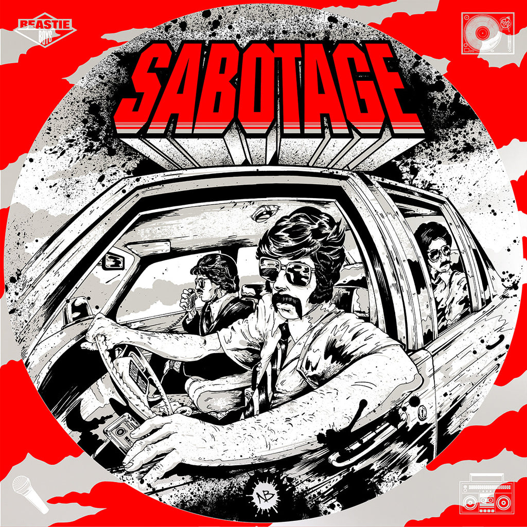 Sabotage Borough - Nick Beery/Blunt Graffix