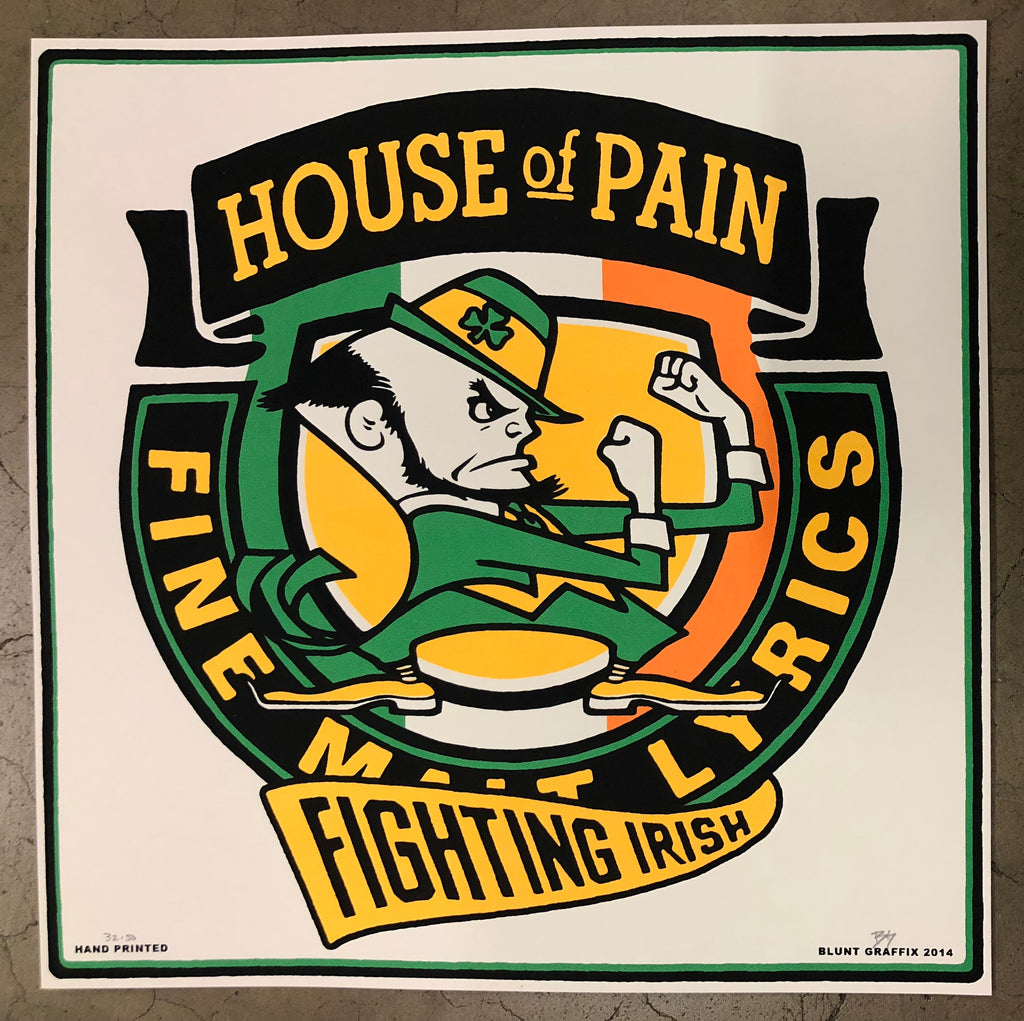"House of Pain - Fighting Irish 12""x12"""