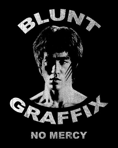 Blunt Graffix - Bruce Lee, No Mercy - T-shirt