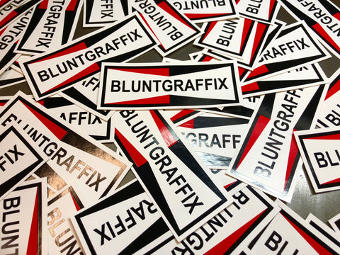 Blunt Graffix Logo Sticker - 5 pack