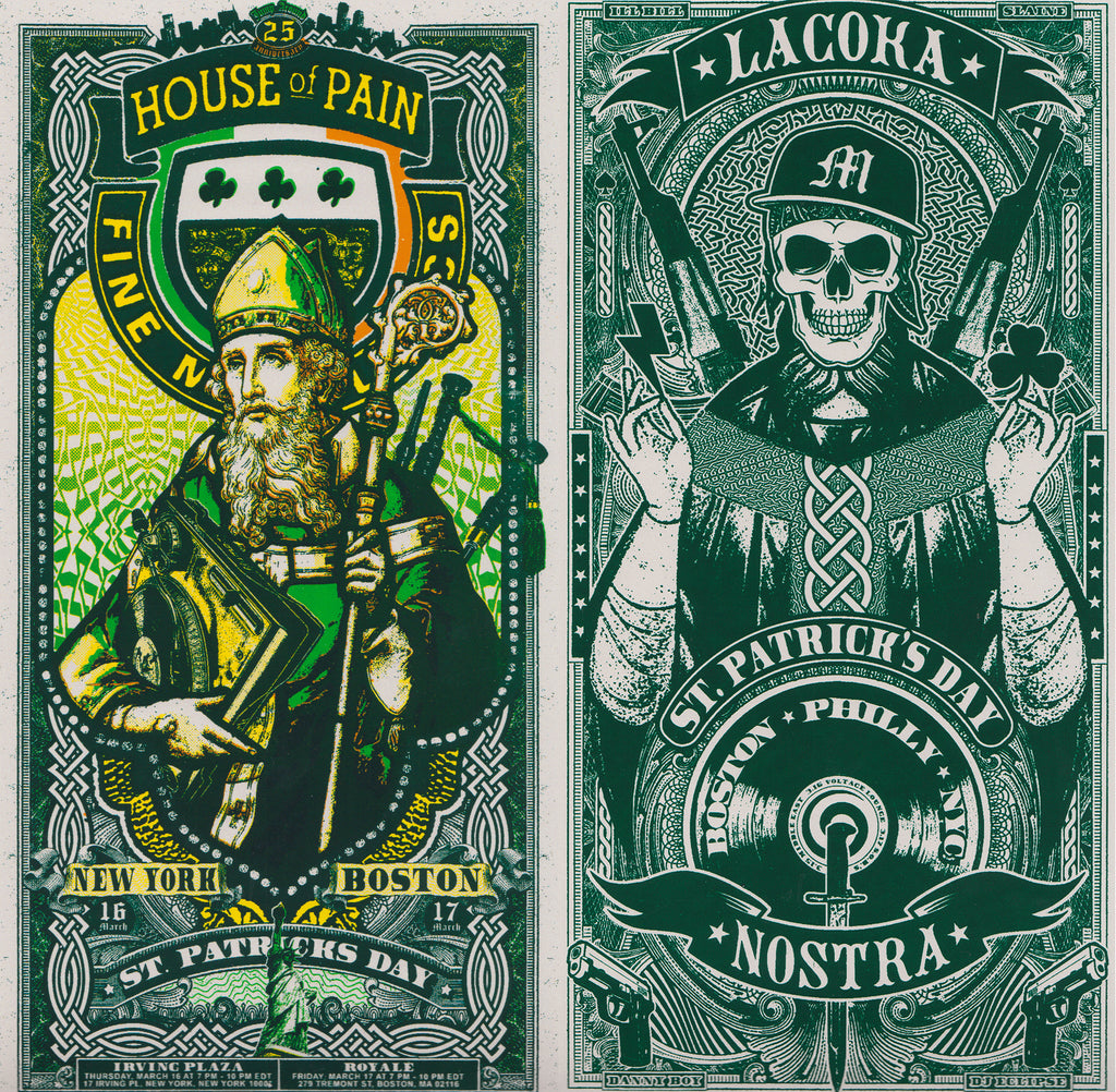 House of Pain X La Coka Nostra Handbill Bundle
