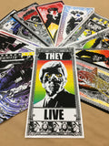 THEY LIVE Handbill Bundle