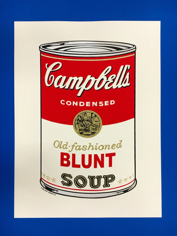 Campbell's Soup Can- Old Fashioned Blunt Soup