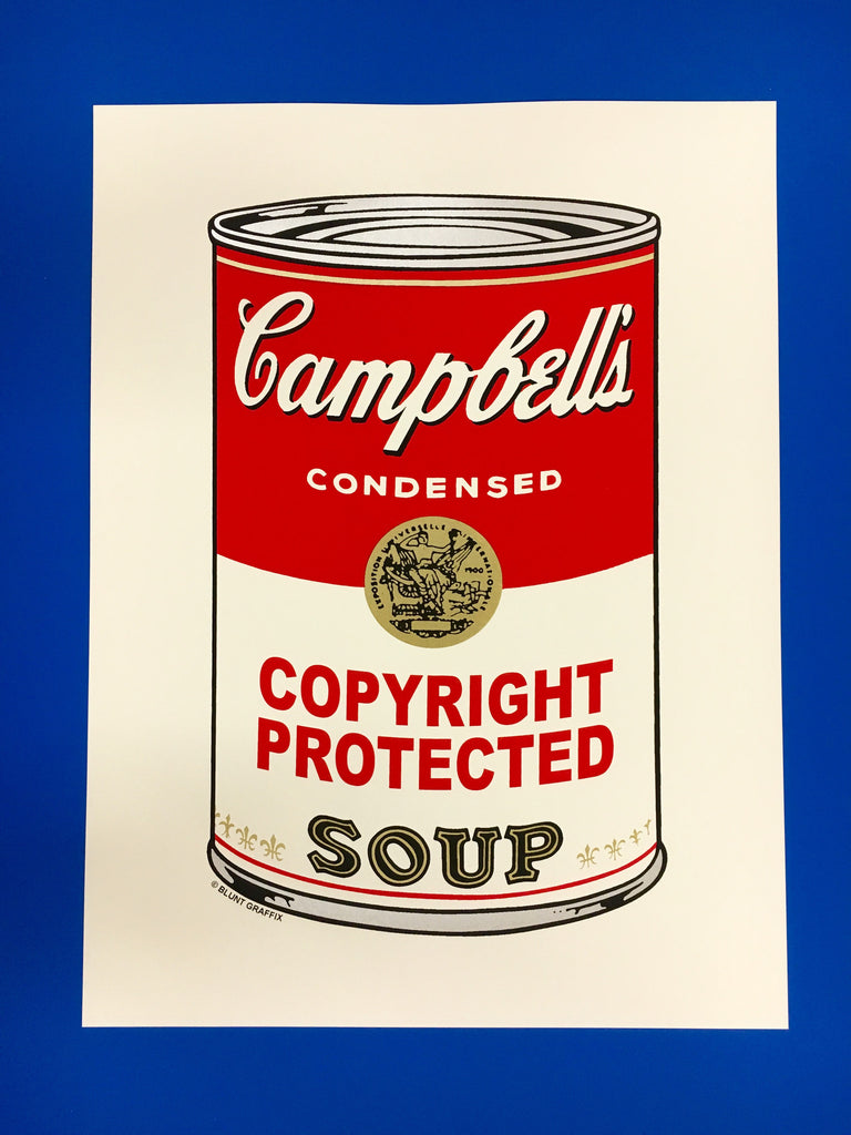 Campbell's Soup Can- Copyright Protected Soup