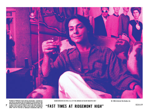 Fast Times At Ridgemont High - Tim Jordan