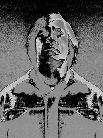 Anton Chigurh - No Country for Old Men Screenprint