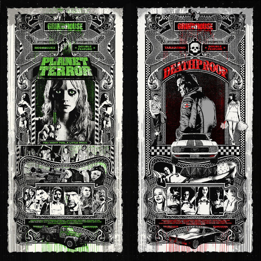 Blunt Graffix - Planet Terror / Deathproof Grindhouse Set