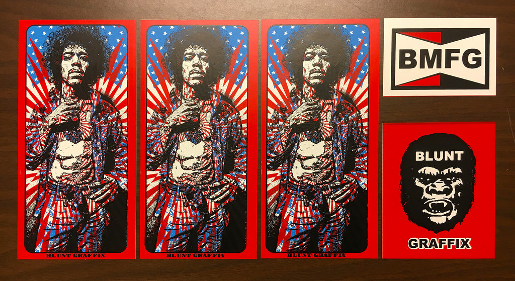 Hendrix Sticker Pack!