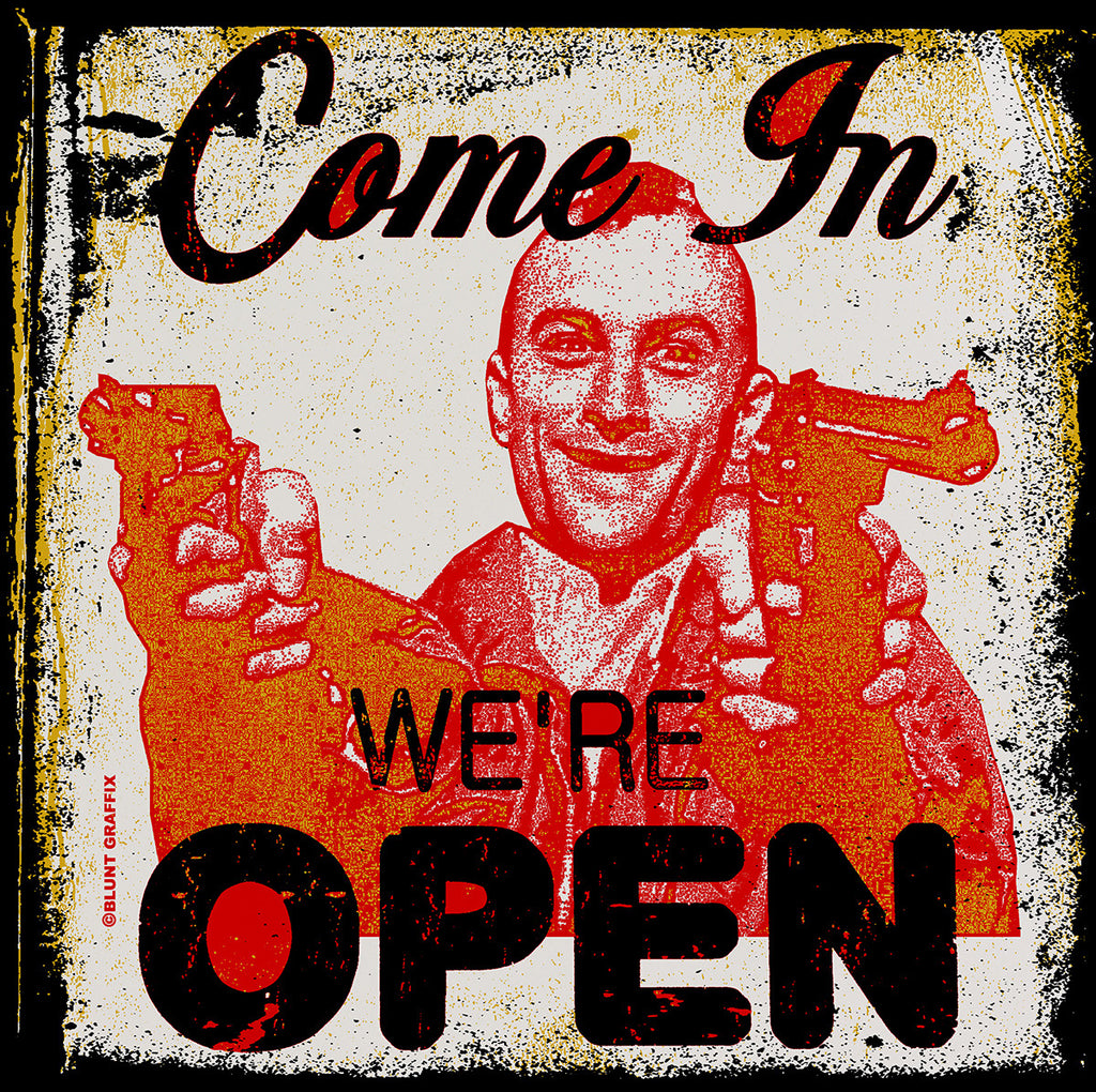 Travis Bickle We're Open