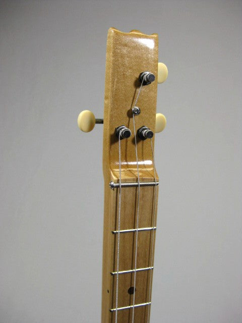 Solid Body 3 String Electric Sapele Guitar #SB10 and Gig Bag