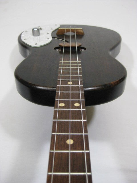 Solid Body 3 String Electric Parlor Guitar #SB18 and Gig Bag