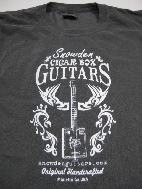 Snowden Guitars Tribal Chicken Long Sleeve Cigar Box Guitar T-Shirt