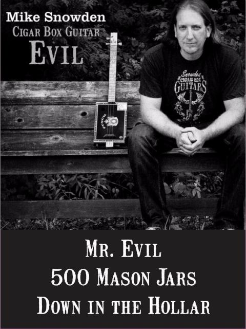 Mike Snowden Cigar Box Guitar EVIL CD [EvilCD]