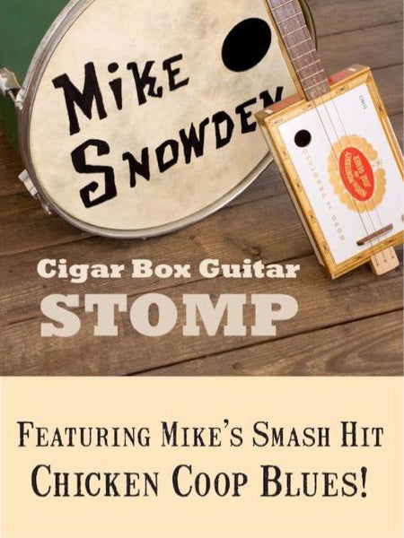 Mike Snowden Cigar Box Guitar STOMP CD
