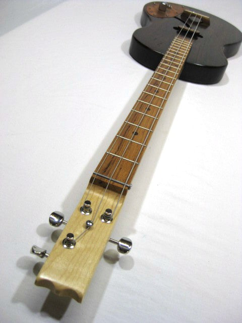 Solid Body 3 String Electric Parlor Guitar #SB13 and Gig Bag