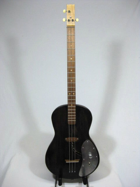 Solid Body 3 String Electric Parlor Guitar #SB14 and Gig Bag