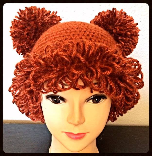 Crochet Cabbage Patch Inspired Hats Mistyfrosthr