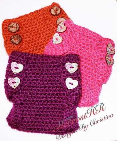 Crochet Baby Diaper Covers