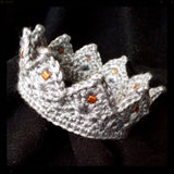 Prince & Princess Crochet Crowns