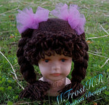 Crochet Cabbage Patch Inspired Hats