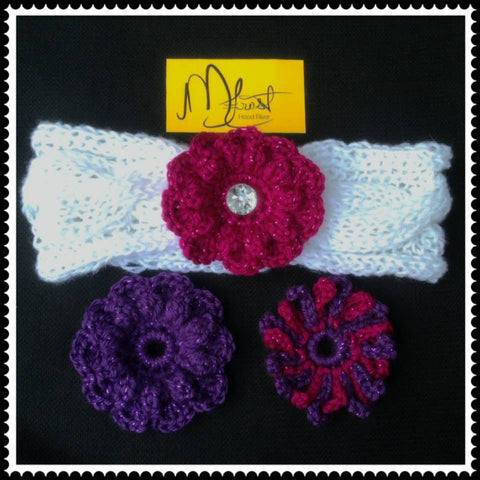 Interchangeable Cable Knit Headband