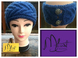 Horseshoe Knit Headband