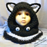 Knitted Bear Hoods