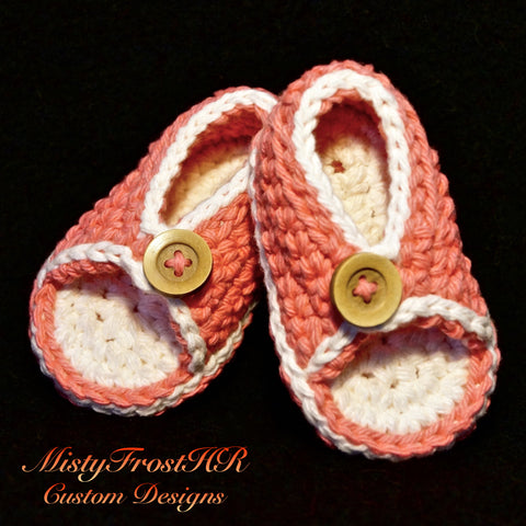 Peaches and Cream Sandals