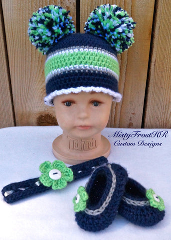 *****     Digital Crochet Pattern     *****     Baby Spirit Wear Set