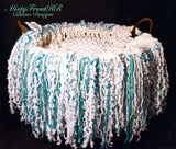 *****     Digital Crochet Pattern     *****     Photography Prop Fringe Blanket