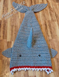 Legendary Crochet Shark Blankets