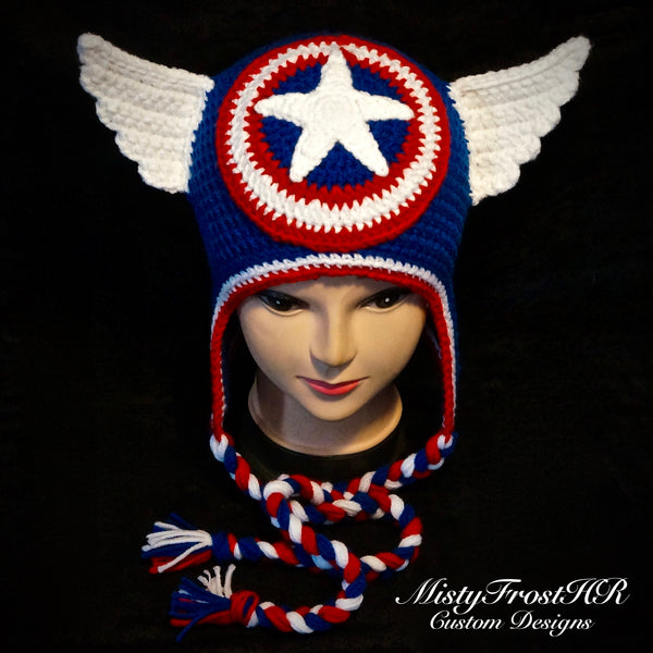 Crochet Super Hero Hats
