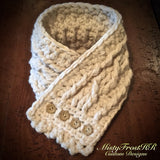 Fisherman's Crochet Cable Scarf