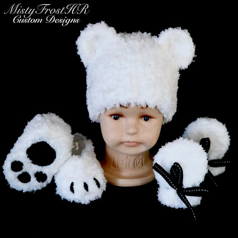Baby Polar Bear Gift Set