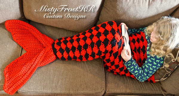 Crochet Mermaid Blankets