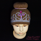 Princess Inspired Crochet Hats
