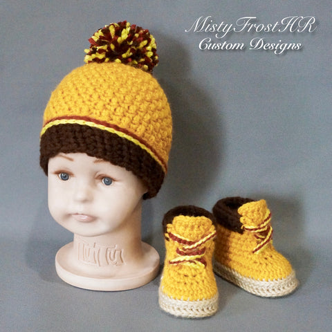 *****   Digital Crochet Pattern   ***** Workin' Baby Construction Set