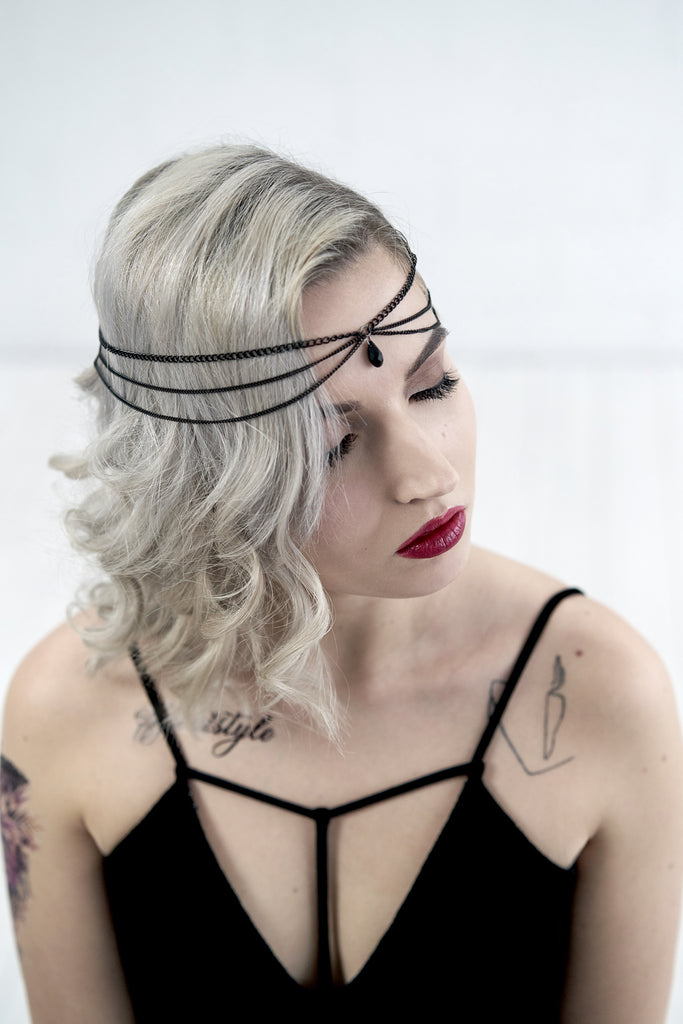 Boho chain headpiece - FABIENNE