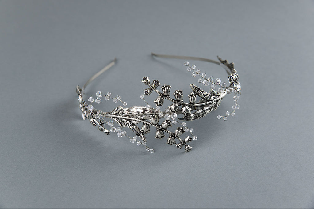 Lily of the valley crown - floraljewellery