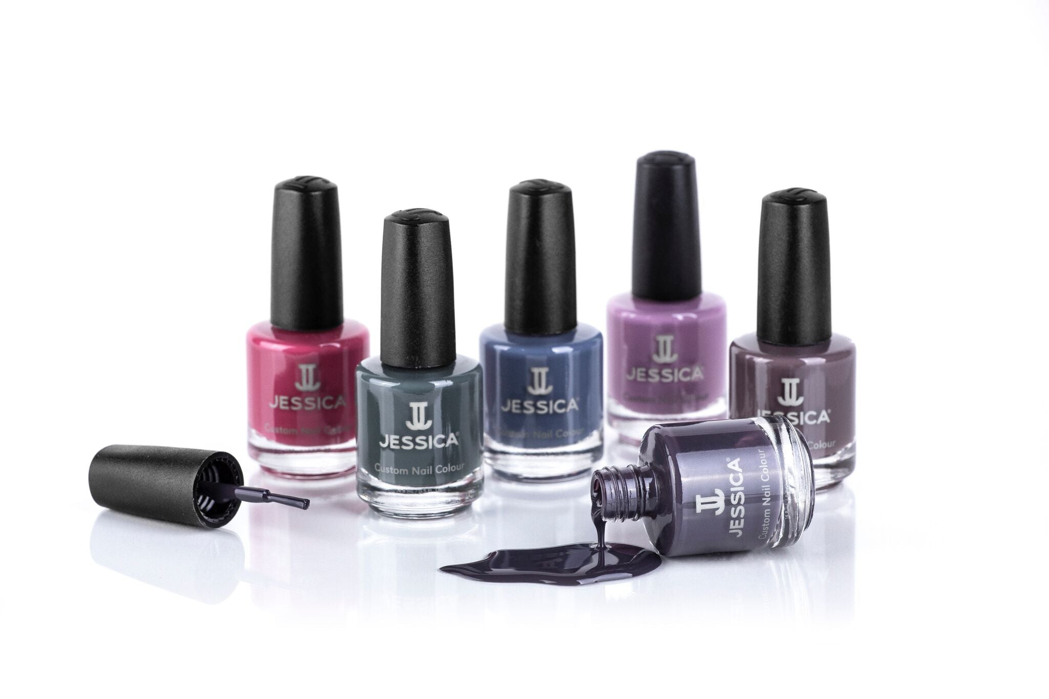 JA-1706 6 piece Custom Nail Colours Street Style Collection ...