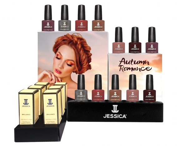 Autumn Romance 12 piece Colour Collection Display