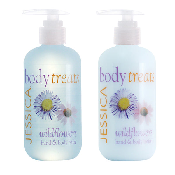 Wildflowers Hand & Body Lotion + Bath