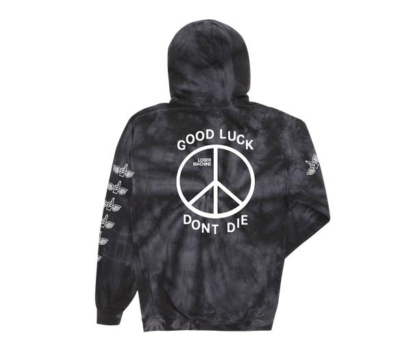 Loser Machine Trench Light Tie Die Hoodie