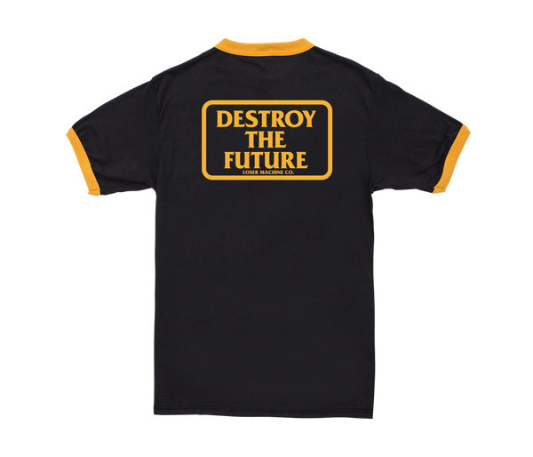 Loser Machine Destroy Box Ringer Tee