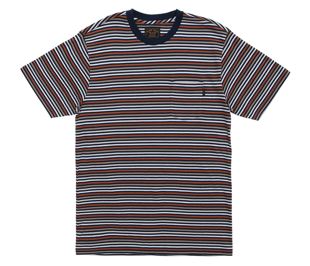 Dark Seas Jet Point Knit Shirt
