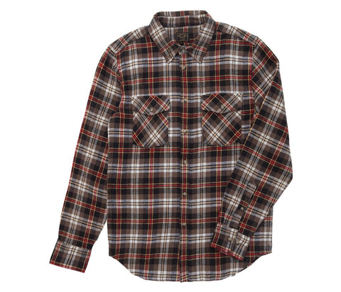 Dark Seas Cardiff Woven Flannel Shirt