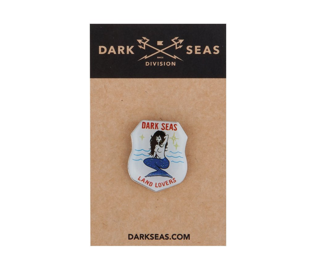 Dark Seas Landlover Pin
